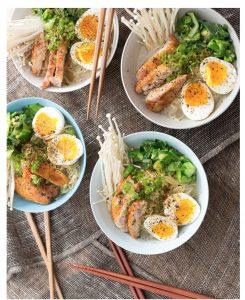 Chicken Ramen Noodle Bowl