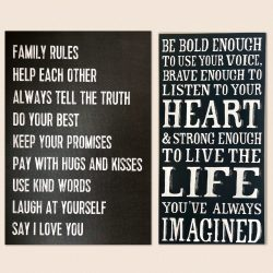 Family Values and Rules Pic