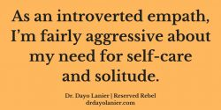 Introveted Empath Quote 2-Dayo Lanier, M.D.