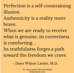 Perfection is an Illusion Quote-Revised-Dayo Lanier