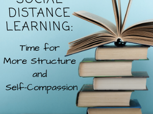 Social Distance Learning: Time for More Structure and Self-Compassion