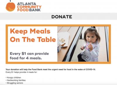 Atlanta Community Food Bank-Donate